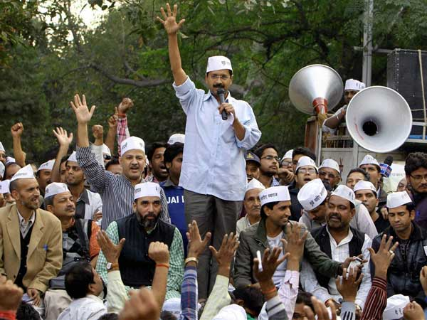 People come out in support of AAP