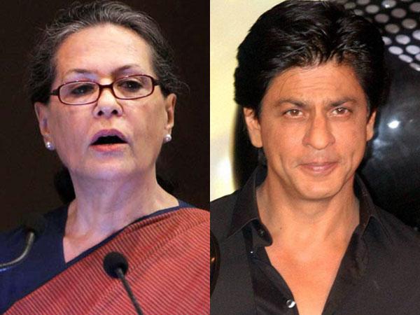 Sonia Gandhi becomes reel Shahrukh Khan