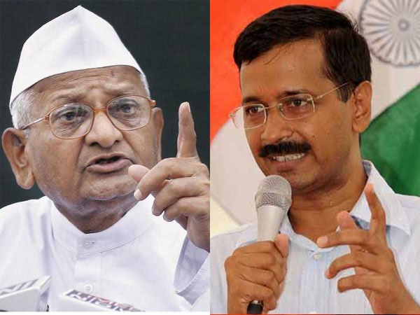 Hazare declines to comment on Kejriwal