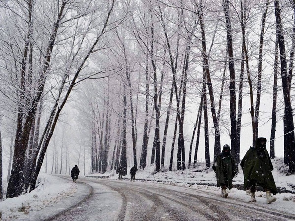 J-K highway closed due to snowfall
