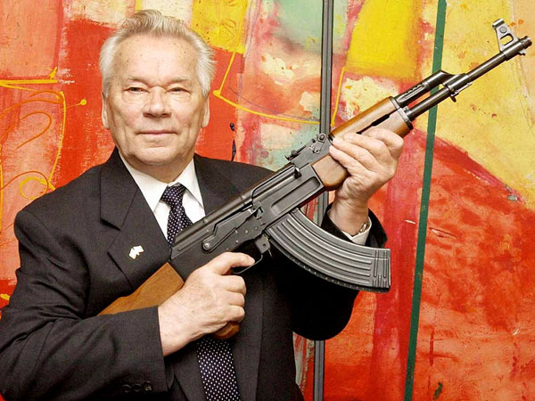 Kalashnikov, designer of AK-47, dies