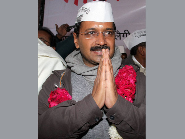 Kejriwal sworn in as Delhi CM