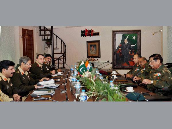 India-Pakistan army men