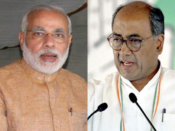 Digvijay Singh asks NaMo to learn austerity from Kejriwal, Mamata
