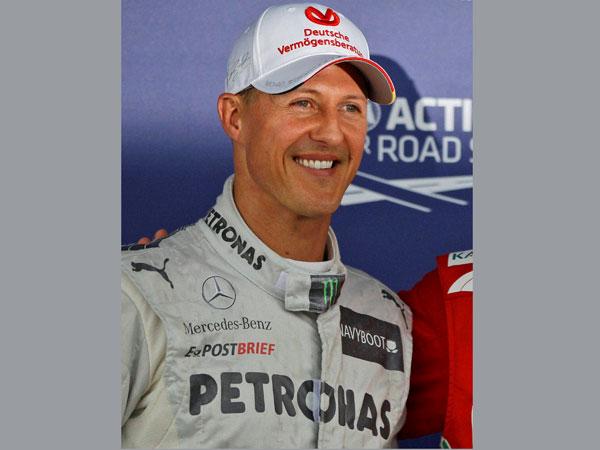 Schumacher remains stable overnight