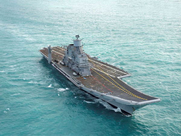 INS Vikramaditya to arrive in India