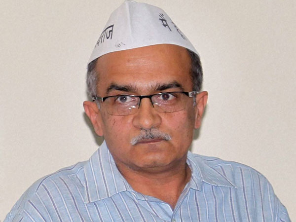 My comment distorted, says Prashant Bhushan