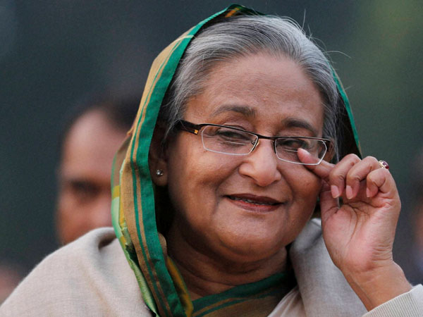 Dhaka: Bangladesh's Prime Minister Sheikh Hasina pauses as she speaks to the media during a press conference in Dhaka, Bangladesh, Monday, Jan. 6, 2014.