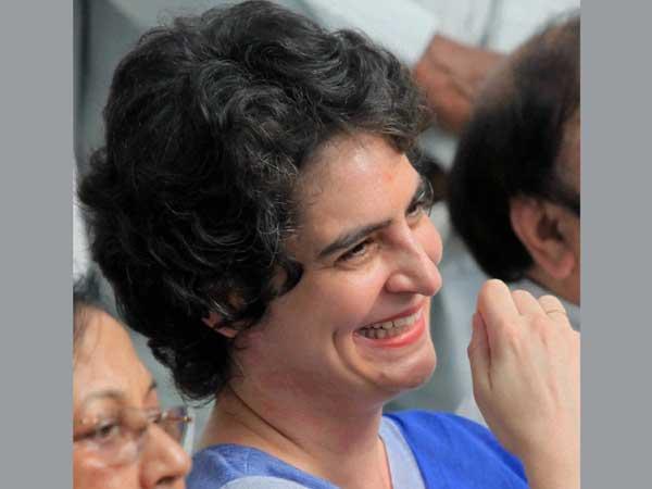 Priyanka Gandhi attends Congress meet