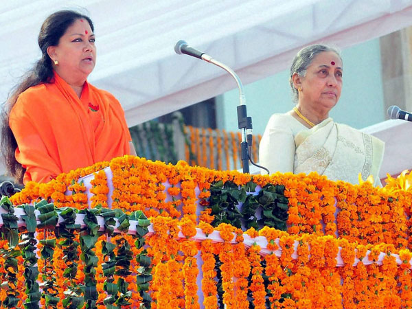 AAP effect ?: Vasundhara Raje cuts security, gives up CM's residence