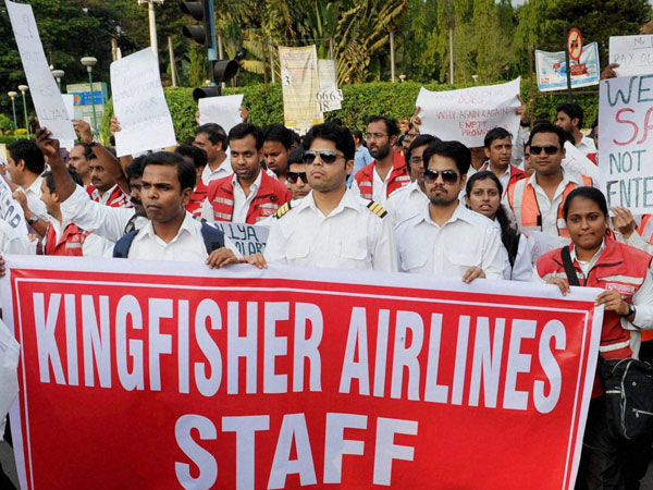 Kingfisher Airlines employees file complaint against Mallya