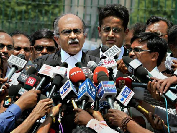 Bhushan accuses BJP, Says attack reflects their frustration