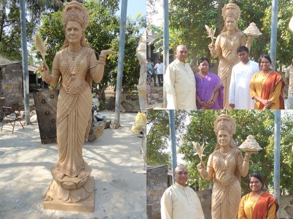 Telangana MLA builds temple, statue for Sonia Gandhi