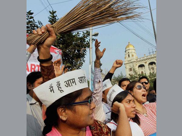 Fight over AAP's broom symbol