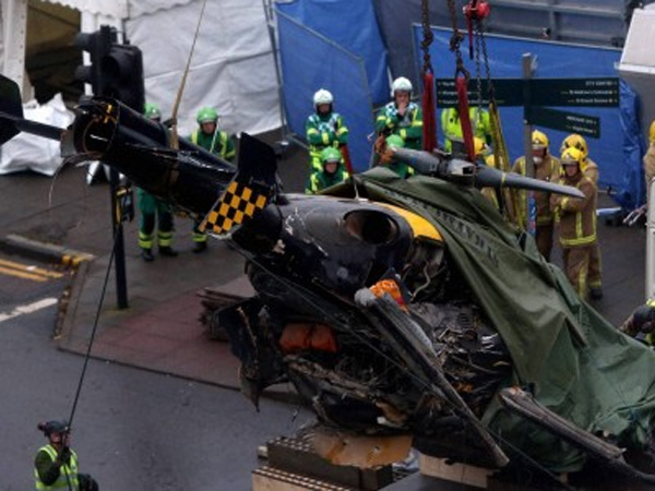 One dead in US Navy helicopter crash