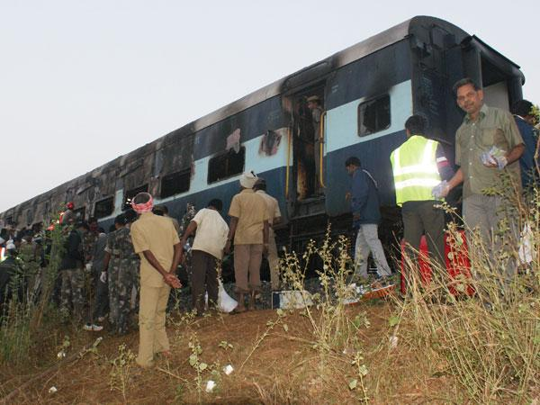 DNA tests to identify train fire bodies