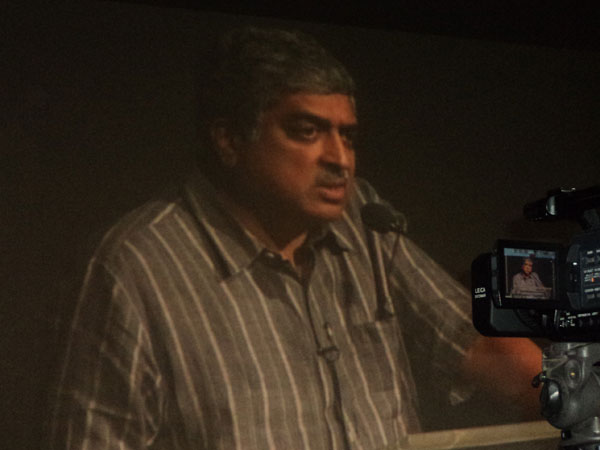 Nandan Nilekani addresses at Christ University