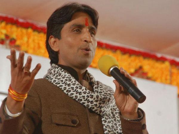 Kumar Vishwas hits out at SP