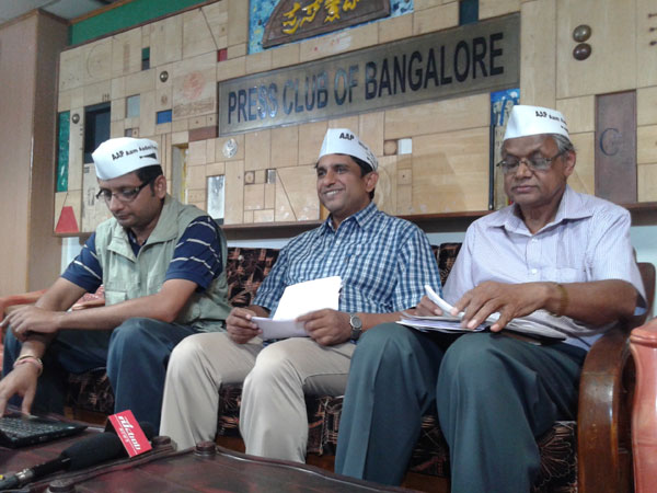 AAP launches membership drive in K'taka