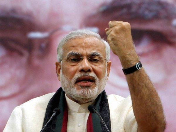 RSS men in burkhas at Modi meet:Congress