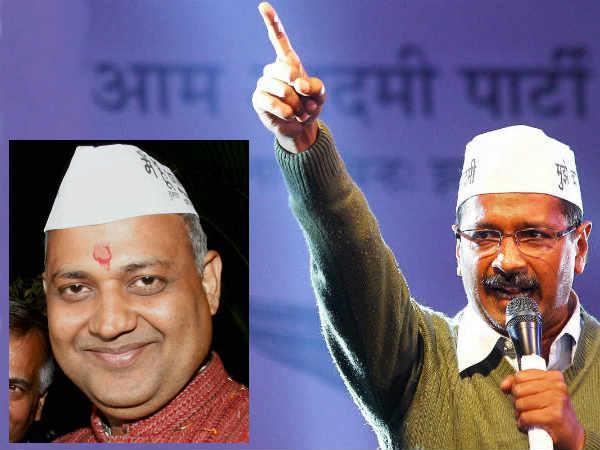 Arvind Kejriwal defends his minister