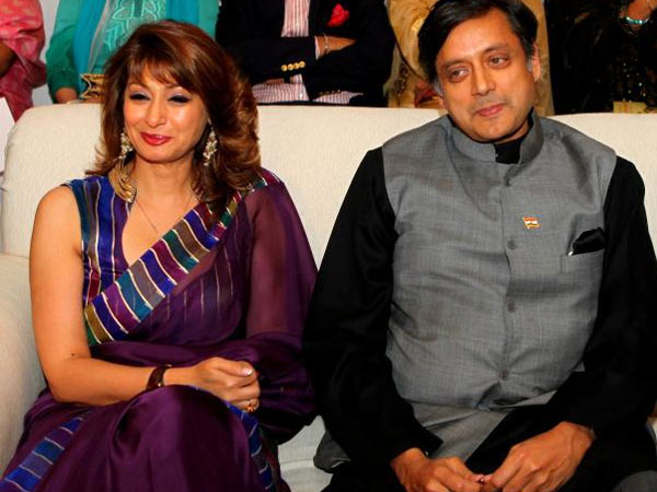 Mr and Mrs Tharoor
