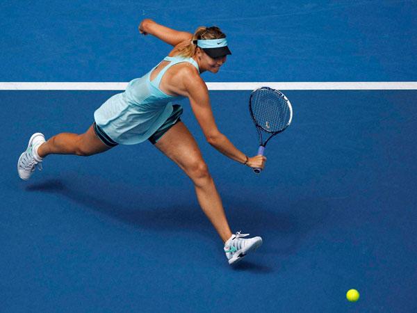 Maria Sharapova crashes out of Australian Open