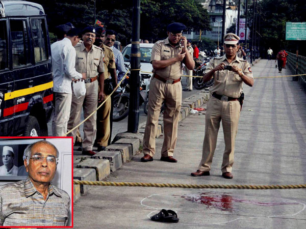 Two arrested in Dabholkar murder case