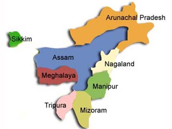 Manipur, Meghalaya, Tripura turn 42 today