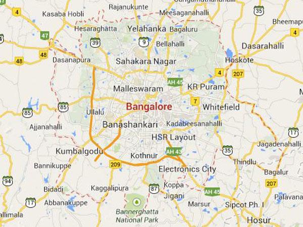 Bangalore! Enjoy free wifi on M G Road