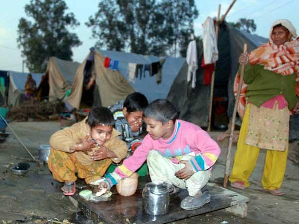 Baby dies in Muzaffarnagar relief camp