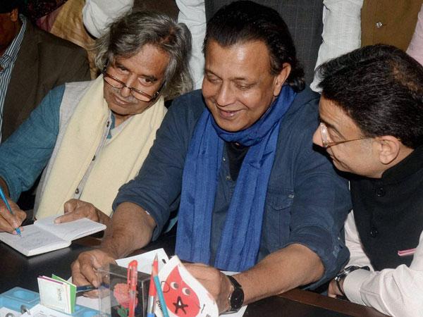 Mithun Chakraborty files RS nomination