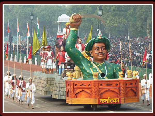 Twitter abuzz with Karnataka's Tipu Sultan tableau on R-Day