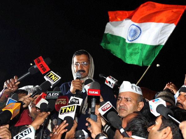 Kejriwal in Twitter trouble