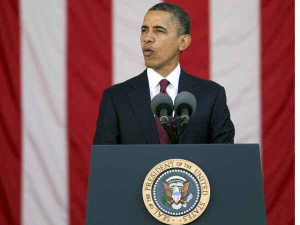 US will leave a small force in Afghanistan post-2014: Obama