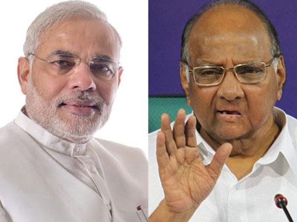 Sharad Pawar met Modi in Delhi?