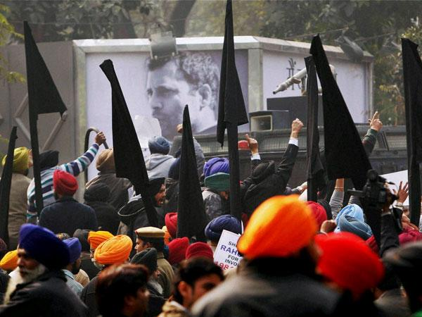 Sikh bodies hold anti-Congress protests after Rahul Gandhi's remarks