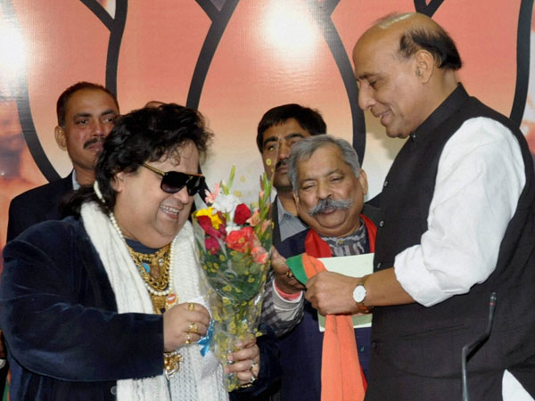 Bappi Lahiri strikes 'cord' with BJP, joins ahead of LS polls