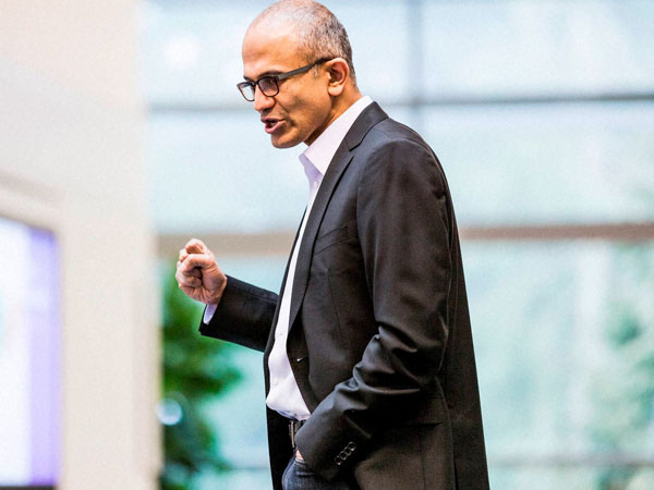 Nadella named as Microsoft CEO