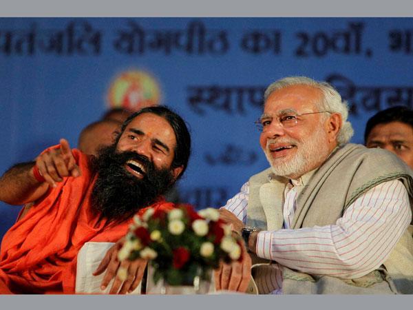 Ramdev attacks Congress again, backs Modi for PM