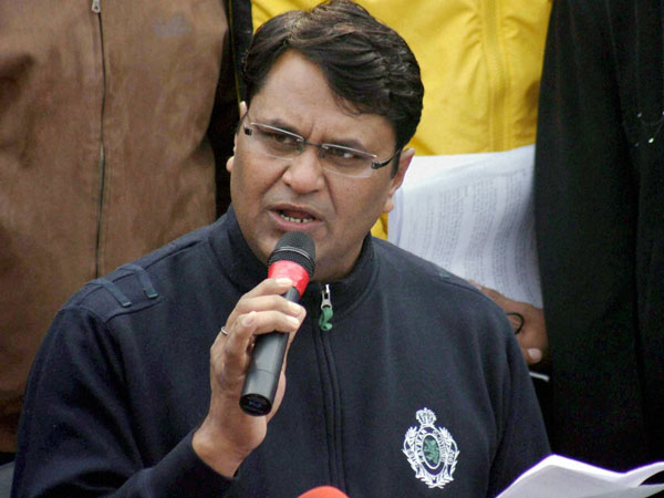 Binny withdraws support from AAP