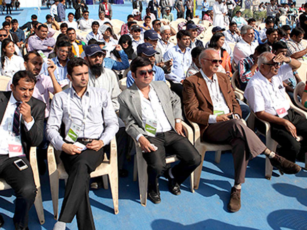 Participants at Ummat Business Conclave in Ahmedabad