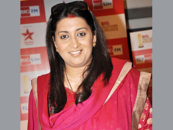 Exclusive interview with Smriti Irani