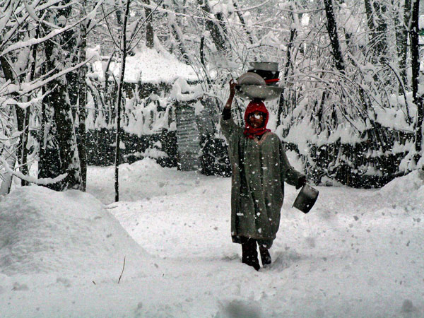 Heavy snowfall closes Himachal roads