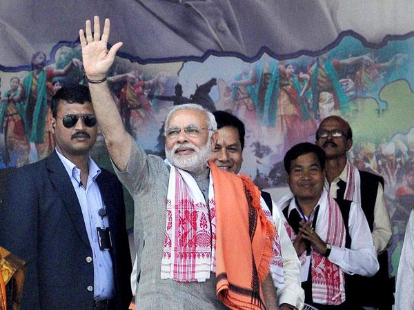 Narendra Modi's rally in Guwahati