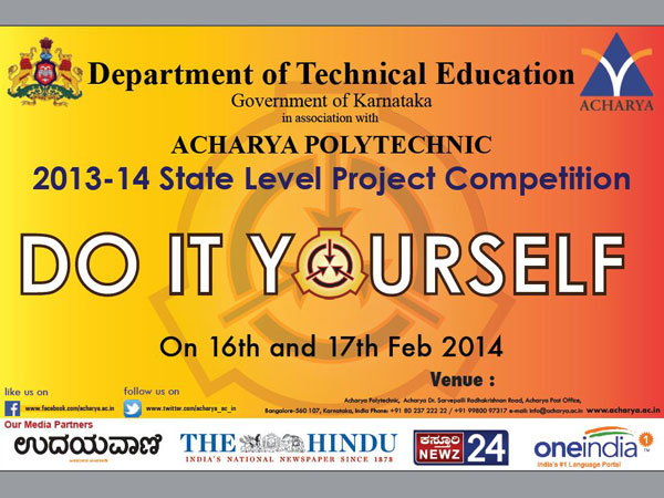 Come participate in 'Do It Yourself'