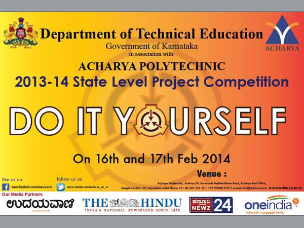 Come participate in 'Do It Yourself'