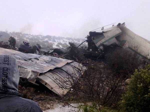 One person survives Algeria plane crash
