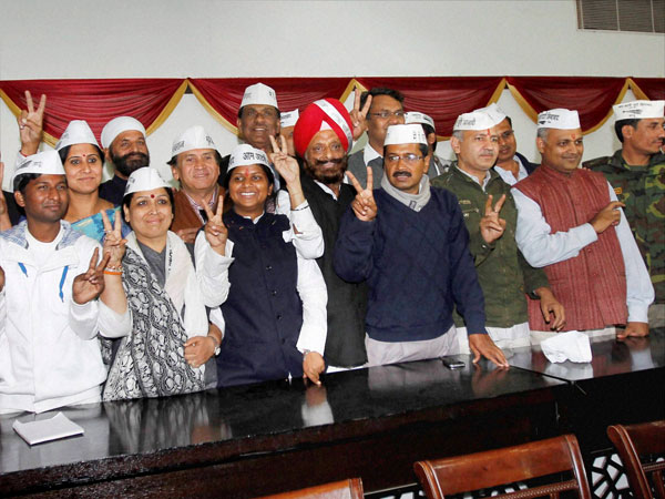 AAP makes a debut in Andhra