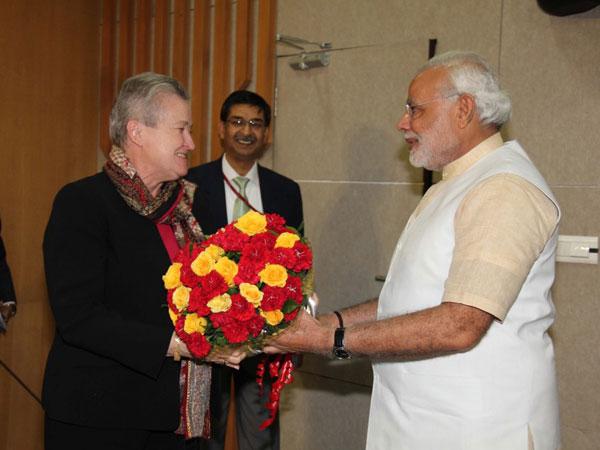 Nancy Powell to meet Modi today